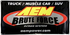 AEM Induction Systems 10-924L Brute Force Banner