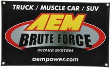AEM Induction Systems 10-924S Brute Force Banner