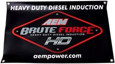 AEM Induction Systems 10-926S Brute Force Banner