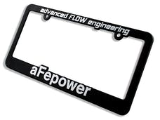 AFE 40-10097 aFe Power License Plate Frame