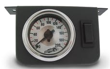 Air Lift Performance 26157 Dual Needle Gauge Panel with two switches- 200 PSI