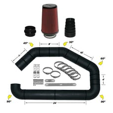 AIRAID 101-401 Universal Air Intake Kit