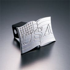 AMI Styling 1009 AMI USA Flag Hitch Cover