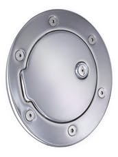 AMI Styling 6041CL AMI Race Style Billet Fuel Dr 6 14/16in. Ring O.D. 4 1/2in. Door O.D.-Chrome Loc