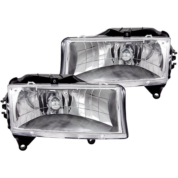 AnzoUSA 111021 Crystal Headlights Chrome