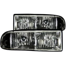 AnzoUSA 111156 Crystal Headlights Black