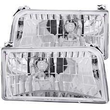 AnzoUSA 111247 Crystal Headlights Chrome