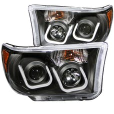 AnzoUSA 111294 Projector Headlights with U-Bar Black