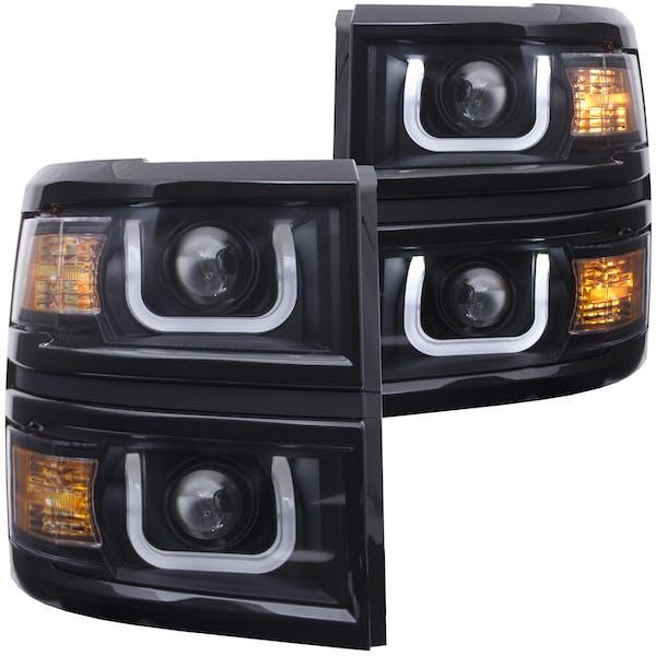 Anzo 111302 Projector Headlight Set
