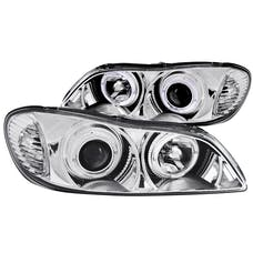 AnzoUSA 121078 Projector Headlights with Halo Chrome