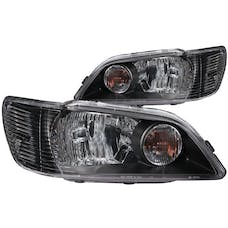 AnzoUSA 121101 Crystal Headlights Black
