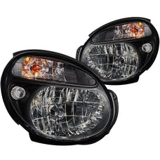 AnzoUSA 121121 Crystal Headlights Black