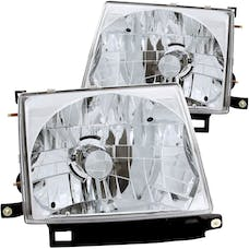 AnzoUSA 121132 Crystal Headlights Chrome