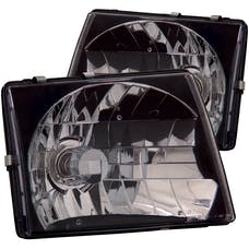 AnzoUSA 121139 Crystal Headlights Black