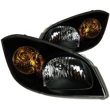 AnzoUSA 121154 Crystal Headlights Black