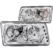 AnzoUSA 121157 Crystal Headlights Chrome
