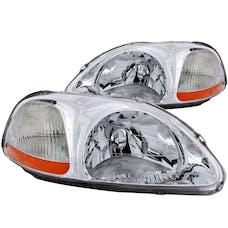 AnzoUSA 121161 Crystal Headlights Chrome