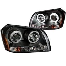 AnzoUSA 121220 Projector Headlights Black