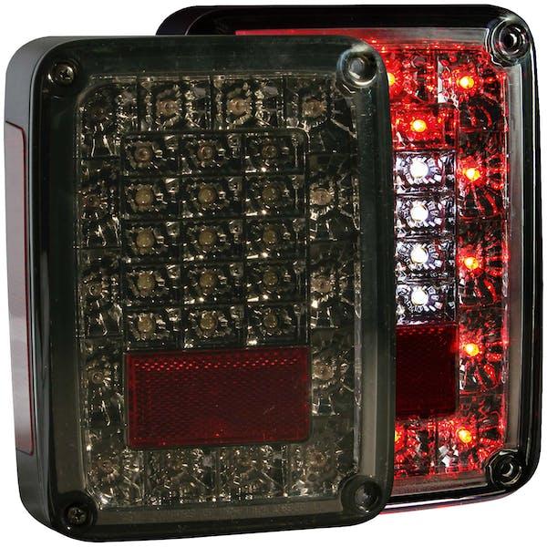 AnzoUSA 311203 LED Taillights Smoke