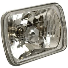 "AnzoUSA 841004 H4 7.5"" x 5.5"" Rectangle Universal Headlight"