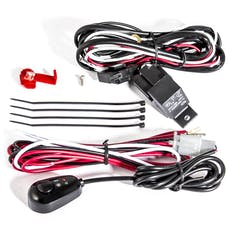 AnzoUSA 851062 12V Auxiliary Wiring Kit with Illuminated Switch