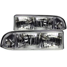 AnzoUSA 111014 Crystal Headlights Chrome