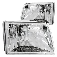 AnzoUSA 111036 Crystal Headlights Chrome