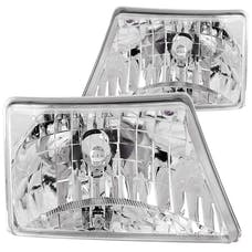 AnzoUSA 111037 Crystal Headlights Chrome