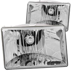 AnzoUSA 111066 Crystal Headlights Chrome