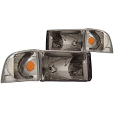 AnzoUSA 111068 Crystal Headlights Chrome