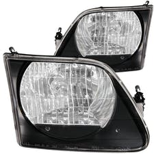 AnzoUSA 111083 Crystal Headlights Black G2