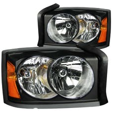 AnzoUSA 111105 Crystal Headlights Black