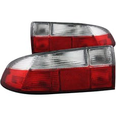 AnzoUSA 221131 Taillights Red/Clear