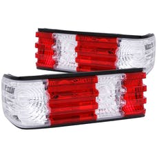 AnzoUSA 221132 Taillights Red/Clear