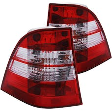 AnzoUSA 221134 Taillights Chrome