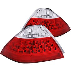 AnzoUSA 221143 Taillights Red/Clear