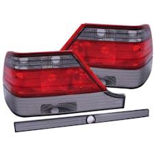 AnzoUSA 221154 Taillights Red/Smoke