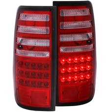 AnzoUSA 311095 LED Taillights Red/Clear