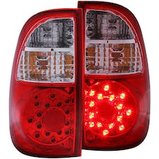 AnzoUSA 311117 LED Taillights Red/Clear