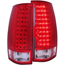 AnzoUSA 311140 LED Taillights Red/Clear G4