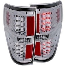 AnzoUSA 311147 LED Taillights Chrome