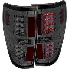 AnzoUSA 311170 LED Taillights Smoke