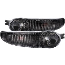 AnzoUSA 511031 Euro Parking Lights Black