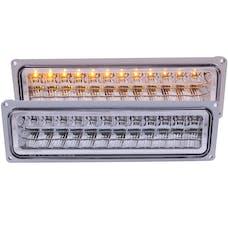 AnzoUSA 511048 LED Parking Lights Chrome