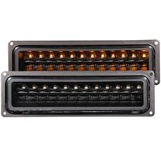 AnzoUSA 511050 LED Parking Lights Black