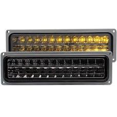 AnzoUSA 511068 LED Parking Lights Smoke