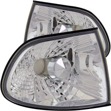 AnzoUSA 521009 Euro Corner Lights Chrome