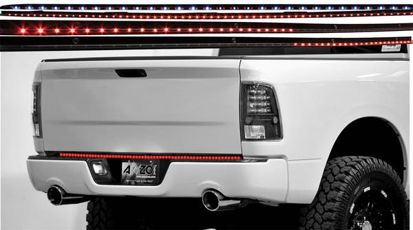"""AnzoUSA 531059 LED Tailgate Bar with Amber Scanning, 49"""" 6 Function"""