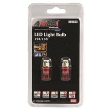 AnzoUSA 809033 194/168 Red - 4 LED's