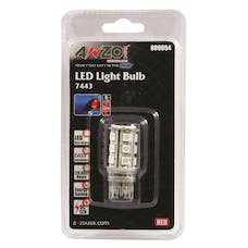 "AnzoUSA 809054 7443 Red - 18 LED's 1 3/4"" Tall"